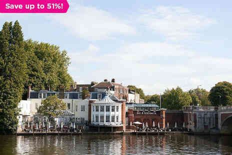 Carlton Mitre Hotel - One night  Break for two in Hampton Court - Save 51%