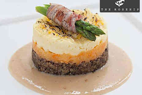 The Rosehip - Main Course Each for Two - Save 58%