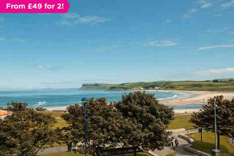 Marine Hotel Ballycastle - One or Two night stay for two with breakfast - Save 0%