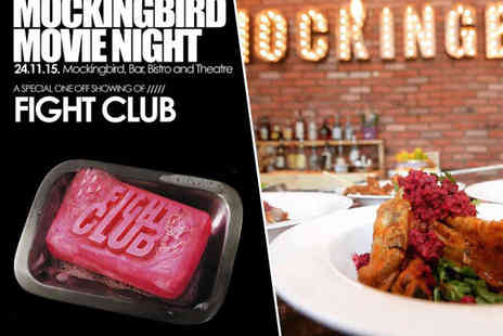 Mockingbird Theatre - Mockingbird Movie Night with Film Screening and Two Course Meal - Save 37%