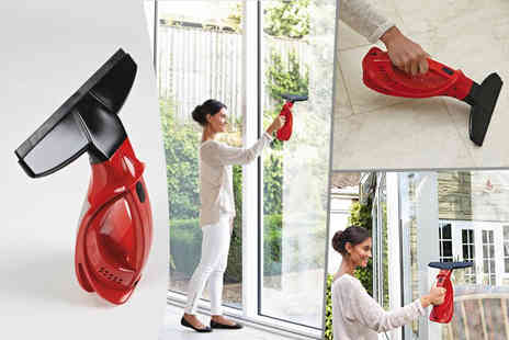 A365   - Cordless handheld window vacuum and batteries  - Save 64%