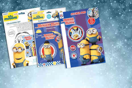 Treats for Kids - Minions, Frozen, Olaf or Avengers stationery bundle - Save 70%