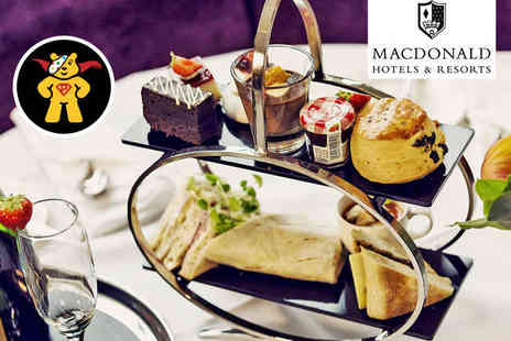 Macdonald Manchester Hotel and Spa - Sparkling Afternoon Tea for Two with Spa Access for Two - Save 74%