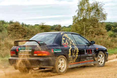 Silverstone Rally School - Adult or Junior Subaru Impreza or Ford KA Rally Driving Experience on a Weekday  Save 51%