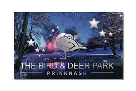 The Bird And Deer Park - Entry to Evening Winter Wonderland  - Save 40%