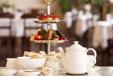 Tea Room at Stagedoor - Festive Afternoon Tea for Two with Three Tea or Coffee Refills Each  - Save 54%