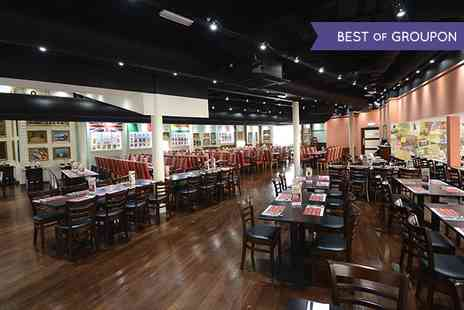 Jimmy Spices - Christmas Day World Buffet with a Glass of Wine for Two  - Save 0%