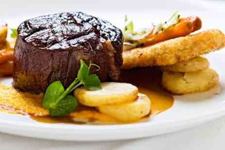 Max Italia - Two Course Steak Meal with a Side for Two  - Save 14%