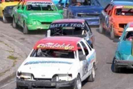 Mendips Raceway - Family Pass To Micro Bangers and Destruction Derby Day - Save 60%