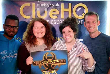 Clue HQ - One hour room escape challenge for up to six - Save 60%