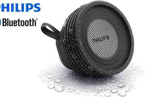 Electronics and Gadgets  - Philips Wireless Splash Proof Portable Speaker - Save 49%