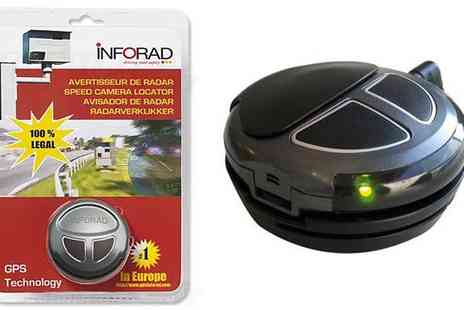 Electronics and Gadgets Direct - Inforad Speed Camera Warning System - Save 38%
