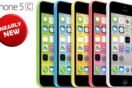 Connectronics - iPhone 5C 16GB or 32GB, 5 Colours - Save 48%