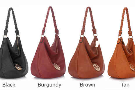 Trendy Look - PU Leather Classic Style Hobo Bag  - Save 59%