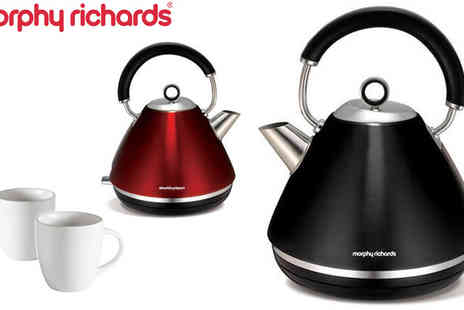 Giddy Aunt - 1.5 Litre Morphy Richards Kettle - Save 20%