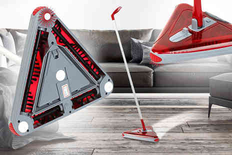 Hungry Bazaar  - Swivel tri sweeper   - Save 60%