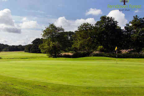 Ferndown Forest Golf Club - Round of Golf and 110 Driving Range Balls for Two - Save 52%