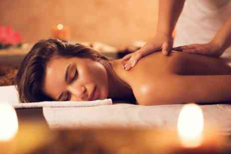 Body Kalm - Aveda Deep Tissue or Aveda Relaxing Massage with Bubbly and Brownies - Save 48%