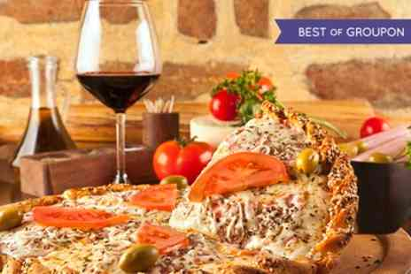 Papavero - Pizza or Pasta with a Large Glass of Wine for Two  - Save 50%