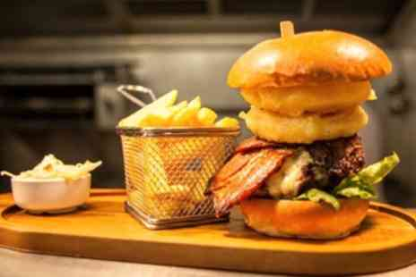 The Town House Bar - Burger and Prosecco for Two  - Save 43%