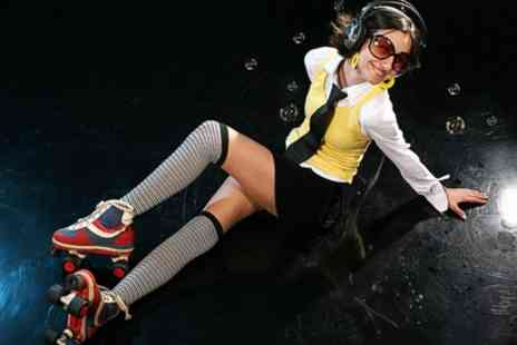 M E C A - Ticket  To 1980s Themed Roller Disco  - Save 55%