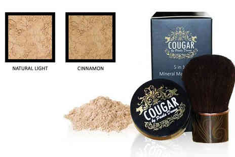 Cougar Products  - Five in One Mineral Foundation - Save 78%