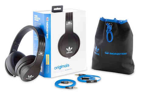 Electronics and Gadgets Direct - Monster Adidas Originals Collaboration Headphones in Three Colours - Save 55%