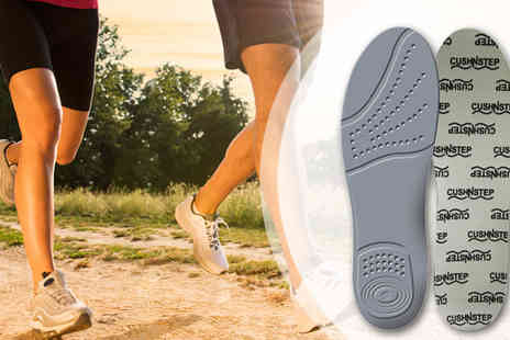 First 4 Health - Sorbothane CushNStep Comfort Insoles - Save 40%