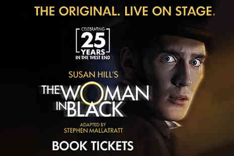 London theatre direct - Two Tickets for The Woman in Black, Fortune Theatre - Save 0%