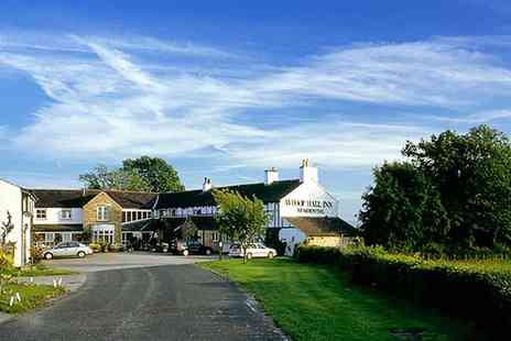 The Whoop Hall Inn -  Two Night Mini Break including Cream Tea - Save 58%