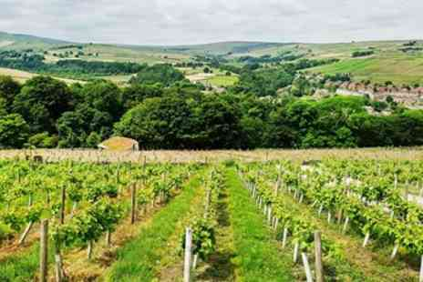 Holmfirth Vineyard - Yorkshire Vineyard Break with Wine & Tour  - Save 41%