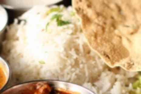 Simply Indian - Complete platter meal - Save 50%