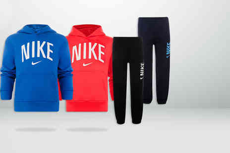 Brand Shopping Direct -  Nike sport log print jog pant or sweat hoodie   - Save 58%