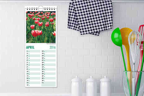 Ask Print  - Personalised hanging kitchen calendar - Save 67%