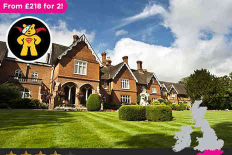 Audleys Wood Hotel - Two night stay for two in Hampshire - Save 0%
