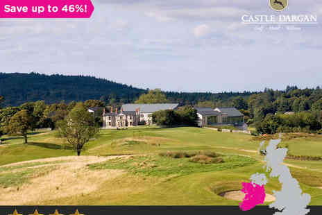 Castle Dargan Hotel - One or two nights for two  in Yeats Country - Save 46%