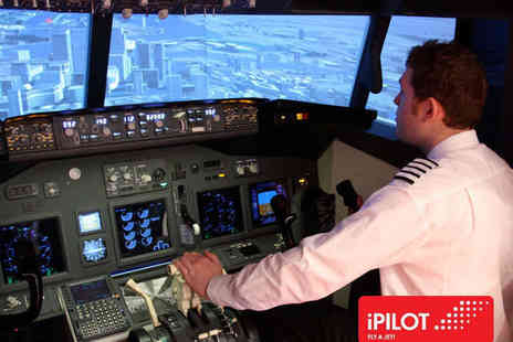 iPilot - 20 Minute Flight Simulator Experience - Save 45%