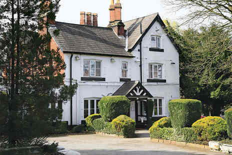 The Lymm Hotel - Overnight Stay for Two with Breakfast  - Save 46%