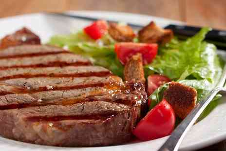 DeerStalker Restaurant - Two Course Rump Steak Meal with Sides for Two or Four  - Save 39%