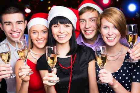 The Holiday Inn  - Christmas Party with Three Course Meal and Bucks Fizz  - Save 70%