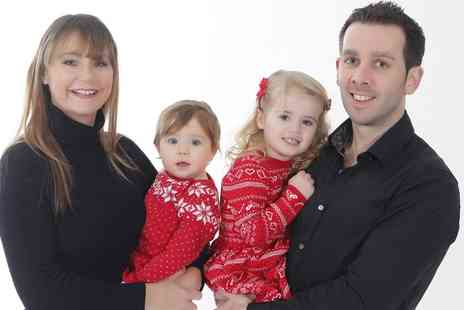 Nika Wilde Photography - Family Photoshoot for Up to Ten with a Framed Print and Optional Key Rings or Calendar - Save 0%
