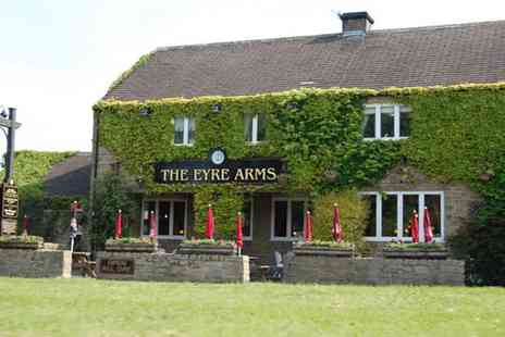 The Eyre Arms - Two Course Meal for Two  - Save 53%