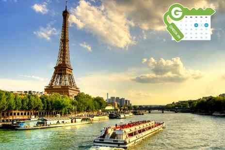 Hotel Le Canal - Stay For Two With Breakfast and 1-Hour Seine Cruise  - Save 0%