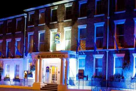 Best Western Feathers Hotel - One to Three Nights stay For 2 With Breakfast And Glass Of Prosecco On Arrival - Save 0%