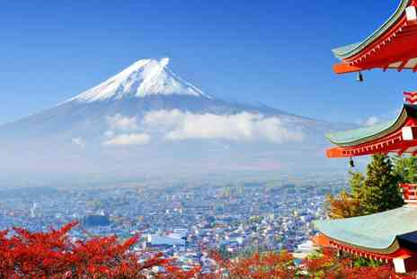 Japan Round Trip - Eleven Night Stay round trip of Japan return flights Fourteen days rail pass and more - Save 0%
