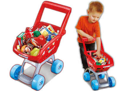 ROSTRAD - Shopping Trolley Toy - Save 40%