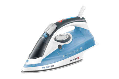 Giddy Aunt - Breville 2400W Steam Iron - Save 53%