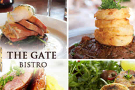 The Gate Bistro - 2 course a la carte meal for 2 people - Save 56%