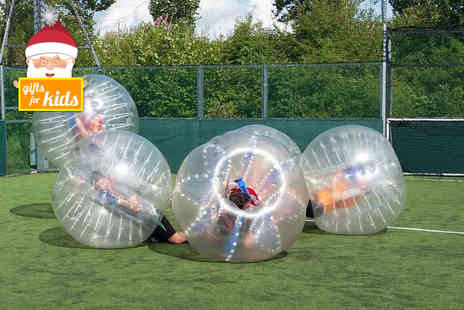 Zorb It - One hour zorb football experience for up to 15  - Save 40%