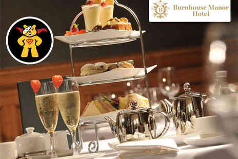 Burnhouse Manor Hotel - Afternoon Tea with Glass of Prosecco Each for Two   - Save 55%